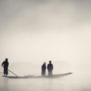 An early morning at Inle Lake, Myanmar