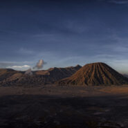 Panorama of Mount Bromo, Indonesia
