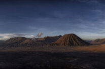 Panorama of Mount Bromo, Indonesia