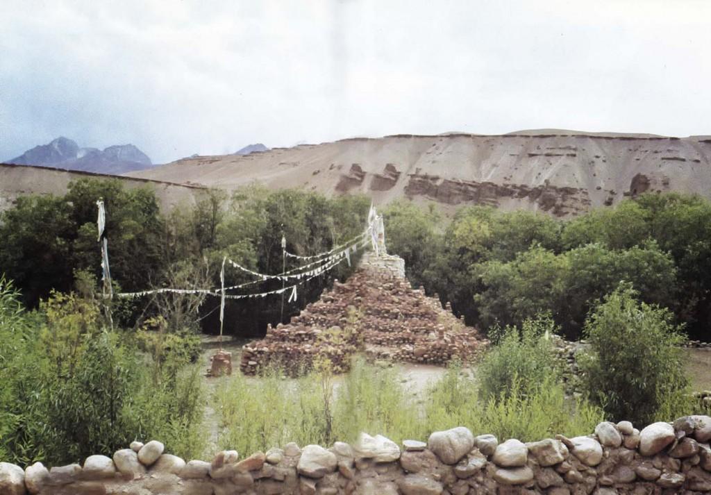 Singh ba chorten, Taklakot, Tibet