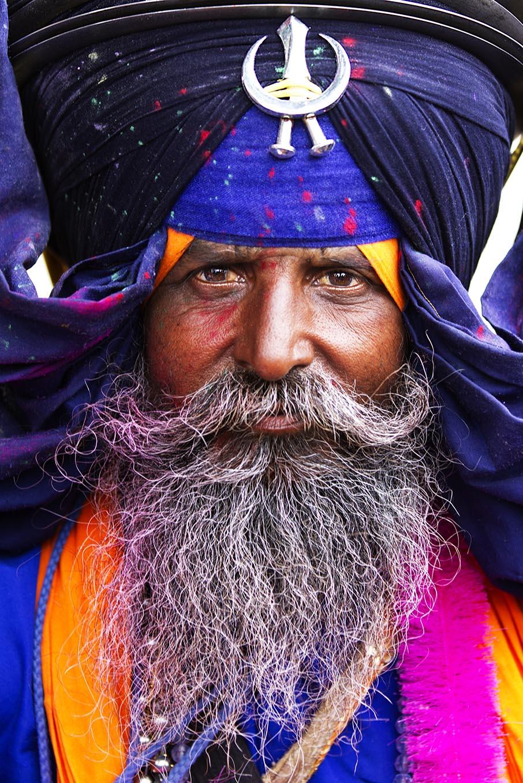 Nihang photographed by Amardeep Singh
