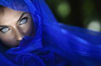 Framed in Blue