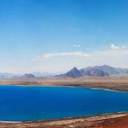 Peiku Tso, Tibet (Large Panorama)
